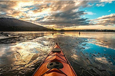 Sunset Kayaking Ushuaia